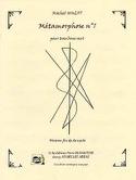Métamorphose N° 1 Michel Hulot Partition Trombone - laflutedepan.com