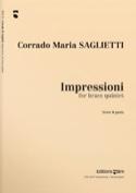 Impressioni Corrado Maria Saglietti Partition laflutedepan.com