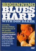 DVD - Beginning Blues Harp Don Baker Partition laflutedepan.com