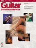 Guitar Manuscript Paper N°3. Tab Staff Partition laflutedepan.com