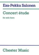 Concert Etude - Esa-Pekka Salonen - Partition - Cor - laflutedepan.com