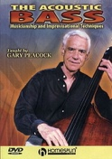 DVD - The Acoustic Bass Gary Peacock Partition Jazz - laflutedepan.com