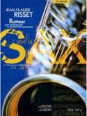 Rumeur Jean-Claude Risset Partition Saxophone - laflutedepan.com