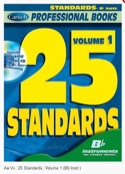 25 Standards Volume 1 - Professional Books - laflutedepan.com