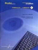 4-18 Etudes progressives - Etudes contemporaines timbales 4 laflutedepan.com