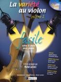 La Variété Au Violon Volume 2 Facile - laflutedepan.com
