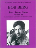 Jazz Tenor Solos Volume 2 METHODE AEBERSOLD Partition laflutedepan.com