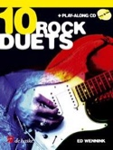 10 Rock Duets Ed Wennink Partition Guitare - laflutedepan.com