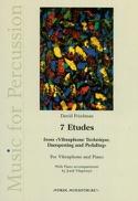 7 Etudes vibraphone David Friedman Partition laflutedepan.com
