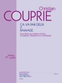 Ca Va Par Deux Et Ramage Christian Couprie Partition laflutedepan.com