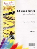 12 Duos Variés Pour Euphoniums Sib Jérôme Naulais laflutedepan.com