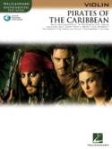 Pirates des Caraïbes Klaus Badelt Partition Violon - laflutedepan.com