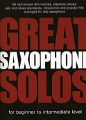 Great Saxophone Solos Partition Saxophone - laflutedepan.com
