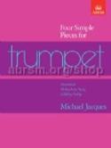 Four Simple Pieces For Trumpet Michael Jacques laflutedepan.com