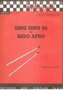 Sing Sing 86 Et Rigo Afro Jean François Partition laflutedepan.com