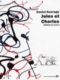 Jules et Charlus Daniel Sauvage Partition Batterie - laflutedepan.com