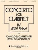 Concerto For Clarinet Artie Shaw Partition laflutedepan.com