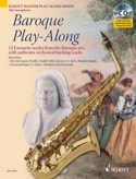 Baroque Play-Along Partition Saxophone - laflutedepan.com