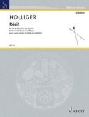 Récit Heinz Holliger Partition Timbales - laflutedepan.com