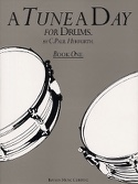 A Tune A Day For Drums Book One C. Paul Herfurth laflutedepan.com