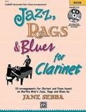 Jazz, Rags & Blues For Clarinet Partition laflutedepan.com
