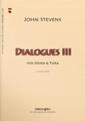 Dialogues 3 John Stevens Partition laflutedepan.com
