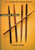 2 X 5 Solos For Snare Drum Denis Stilke Partition laflutedepan.com