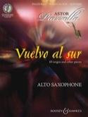 Vuelvo Al Sur Astor Piazzolla Partition Saxophone - laflutedepan.com