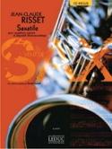 Saxatile Jean-Claude Risset Partition Saxophone - laflutedepan.com