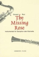 The Missing Rose Giovanni Ricci Partition Saxophone - laflutedepan.com