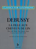 La Fille Aux Cheveux de Lin DEBUSSY Partition laflutedepan.com