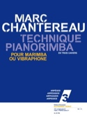 Technique Pianorimba Cahier 3 - Arpèges laflutedepan.com