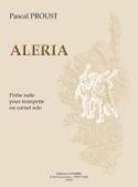 Aleria - Pascal Proust - Partition - Trompette - laflutedepan.com