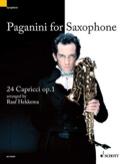 Paganini For Saxophone, 24 Caprices Opus 1 laflutedepan.com