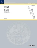 Elegie Christian Jost Partition Trombone - laflutedepan.com