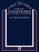 Daily Studies For All Saxophones Trent Kynaston laflutedepan.com