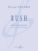 Rush Pascal Zavaro Partition Saxophone - laflutedepan.com