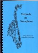 Méthode de Saxophone Serge Bertocchi Partition laflutedepan.com