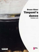 Timpani's dance - Bruno Giner - Partition - laflutedepan.com
