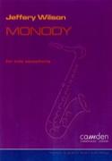 Monody Jaffrey Wilson Partition Saxophone - laflutedepan.com