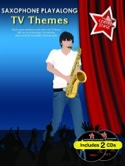 Saxophone playalong TV themes avec 2 CDs Partition laflutedepan.com
