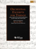 Orchestral Excerpts For Timpani - Partition - laflutedepan.com