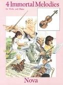4 Immortal Melodies Partition Violon - laflutedepan.com