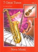 7 Great Tunes Volume 1 Partition Violon - laflutedepan.com