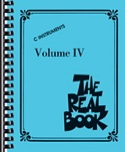 The Real Book Volume 4 - C Instruments Partition laflutedepan.com