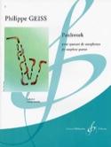Patchwork Philippe Geiss Partition Saxophone - laflutedepan