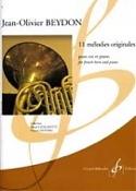 11 Mélodies Originales Jean-Olivier Beydon Partition laflutedepan.com