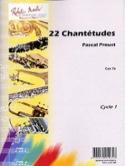 22 Chantétudes Traditionnel (Pascal Proust) Partition laflutedepan.com