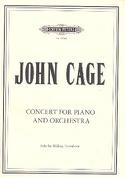 Concerto pour Piano et Orchestre John Cage Partition laflutedepan.com