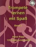 Trompete Lernen mit Spass Band 2 Horst Rapp Partition laflutedepan.com